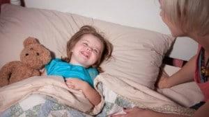 پزشک اطفال و تنها خوابیدن کودک