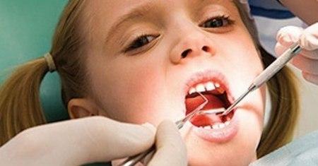 زخم دهان کودک بعد از دندانپزشکی