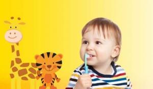 اصول بهداشت دهان و دندان کودک