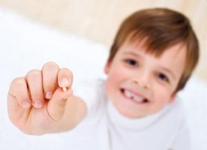 کشیدن دندان های شیری