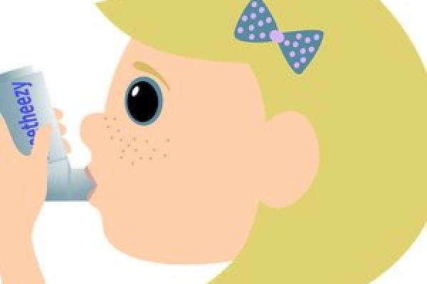 تاثیر داروهای آسم روی دندان کودکان